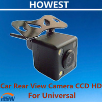 Factory Promotion Universal rear view camera with 170 lens Degree HD nightvision waterproof free shipping