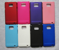 High Quality For  Samsung Galaxy S2 i9100 Protective Case Scrub i9100 Hard Cover+ Retail Package,Free Shipping