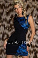 Floral Transparent Slimming Elegant Dress Women