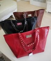 2013 new mng mango pu leather women big tote handbags spain designer brand high quality