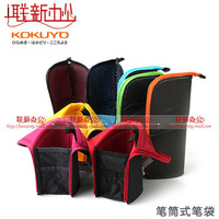 Ayu women's cosmetic bag large capacity owl handmade pencil case debris bag cartoon zipper bag female