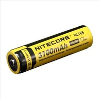 [100% new original authentic] - Nitecore NL188 3100mAh 18650 3.7V 11.5Wh high discharge performance Li-ion Rechargeable Battery