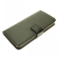 HK Post Free Shipping Wallet Leather Case for iphone 5 5g with Stand Flip cover Card Holder holster  Free Screen Protector gift