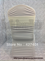 Hot Sale Ivory Spandex Bands / Lycra Band / Expand Bands /spandex chair sash/Chair cover sash  For Wedding & Banquet