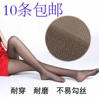 10 summer spandex pantyhose ultra-thin silk socks female