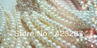 Pearl necklace  8-9mm