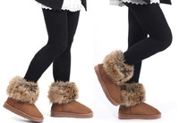 2013 new tassel boots round head flat with winter winter boots women's boots flat boots-in-tube snow boots warm cotton shoes