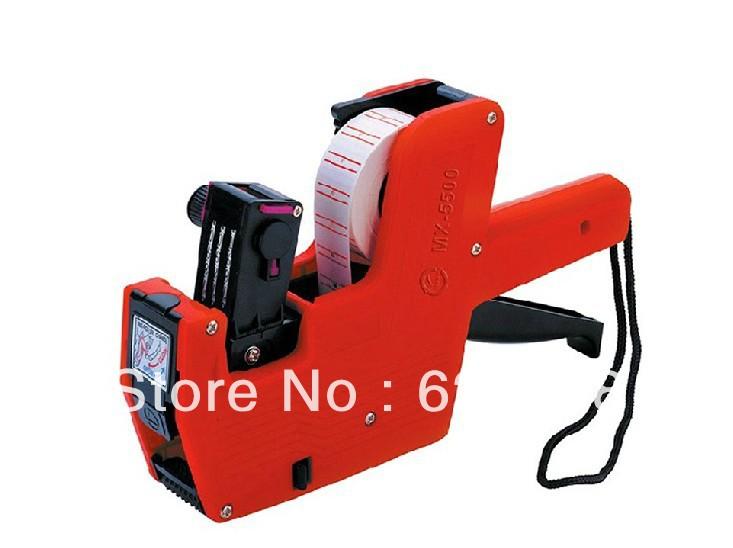 Free shipping Pricing machine labeller Price Tag Tagging Marking Pricing Gun Labeler(China (Mainland))