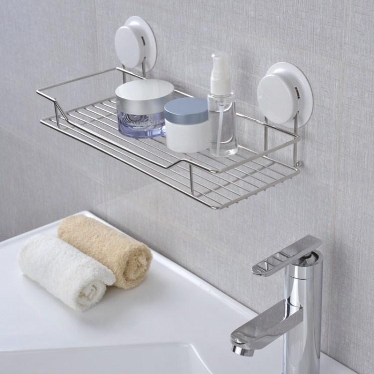 Wandrek Keuken Rvs : Stainless Steel Wall Shelf Bathroom