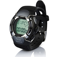 New Waterproof Heart Rate Monitor Calorie Pulse Sport Watch With Colock Black Free shipping Feida