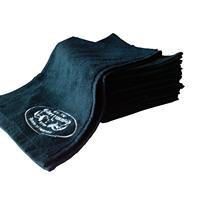 100% cotton black sports towel sports towel hanjin fitness towel with pockets