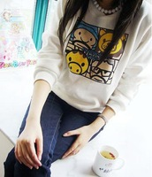 3 2012 100% cotton cap sweatshirt animal head portrait puzzle