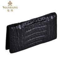 Male crocodile skin design long wallet wallet crocodile skin fashion luxury