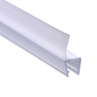 H : PVC window  glass shower room bathroom sealing strip doors  shower room waterproof strip glass windproof   gap band