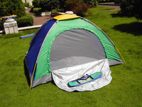 Double single tier tent outdoor camping supplies