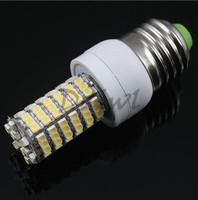 10 X E27 7W DC 12V 700-Lumen 3500K 120-SMD 3528 LED Warm White Light Lamp Bulb