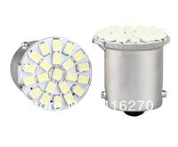2 1156 BA15S P21W 1159 White 22 1206 SMD LED Tail Brake Light Bulb Lamp  free shipping
