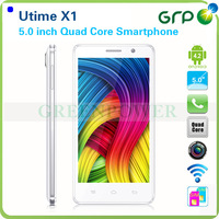"Freeshipping UTtime 5"" X1 Cellphone MT6589 Quad Core 1.2GHz IPS Dual Webcam Android 4.2 GSM+WCAMD"