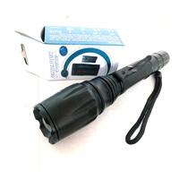 Stainless High Light 3-Mode LED Lamp/Hand Torch Flashlight B2 brightness adjustable Length Extensible