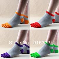 Free Shipping 6pairs/lotsToe socks Men toe socks