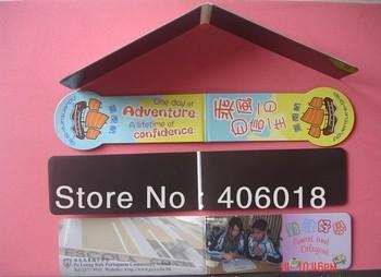 Door to door shipment promotion Paper Magnetic Bookmark  --- DH3979
