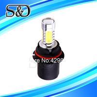 1pcs 9007 HB5 High Power 7.5W 5LED Pure White Head Tail Fog Driving Car Light Bulb Lamp
