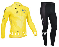2013 Newest  Winter Thermel Fleece Cycling Jersey+Pant Set /Sports Cloth/Bicycle Wear/Biking Jackets/Bike Clothes/Running cloth