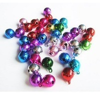 FreeShipping!!!the DIY maxed color small bell size 12mm,100/lot!!!