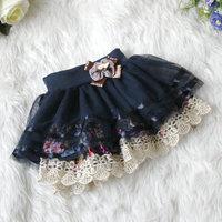 2013 female child princess dress bust skirt female child juxtaposition yarn short skirt