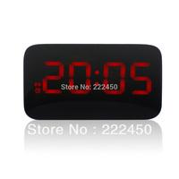 Free shipping ! Strange new creative mute LED Alarm Clock voice clock electronic screen saving fashion Deko shipping