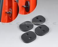 Free shipping & Tracking # New 4PCS Car Door Striker Cover Lock Protector Antirust  for Citroen C-Quatre C-Triomphe  -CA01422