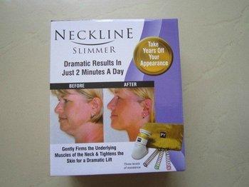 Free shipping by DHL/EMS/TNT&96pcs/lot,neckline slimmer,as seen on TV,Chin massagerDHL