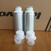 Free shipping 250ml Aluminum Bottles Makeup Tools Essential Oil Liquid Cosmetic Aluminum Jar Screw Thread Chemical Container