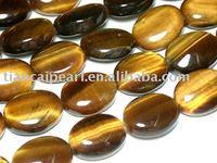 16''L=38cm/strand 13x18mm Tiger eye Nature Stone-Semi-Precious stone Beads