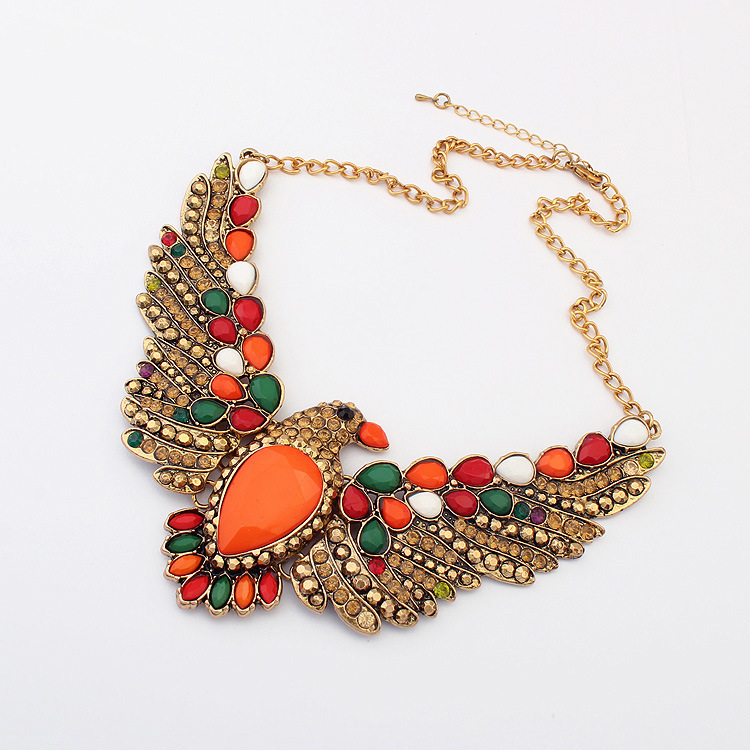 multi colored jewelry necklace