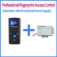 HomeyMart TCPIP USB RS485 Wiegand In Out TFT Screen Biometric Security ID Card Fingerprint Access Control