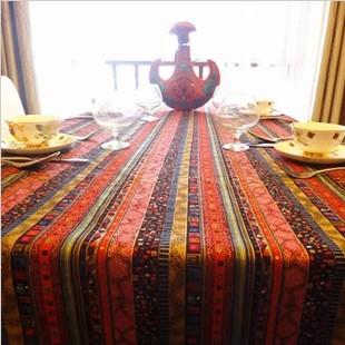 New oriental fluid fabric table cloth customize(China (Mainland))