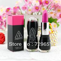 5pcs/lot brand Professional Makeup hot  rouge lipstick tube Big transparent hose cap Lips 20 different color free shipping