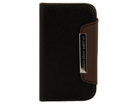 Wallet Leather Case Cover for Samsung Galaxy S3 mini i 8190 Cell Phone Accessories