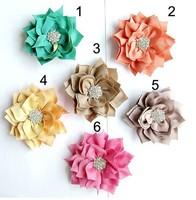 Baby Headbands Delicate Kids Hair Accessories multilayer Sharp corners diamond Flower