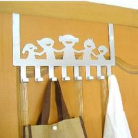 Stainless steel door after hangers multi-purpose hook seamless hook coat hook iron hook