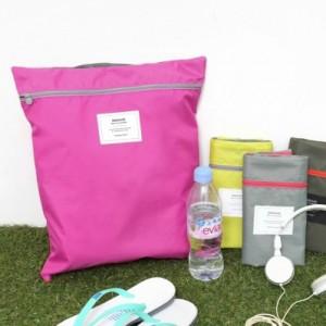 Outdoor travel portable waterproof clothing shoes nylon storage bag sorting bags shoe storage bag(China (Mainland))