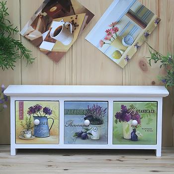 Free Shipping Fashion brief - storage box drawer storage cabinet decoration box