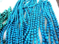 Loose stone Beads-10mm turquoise Beads