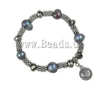 Free shipping!!!Freshwater Cultured Pearl Bracelet,Designer Jewelry, 10-12mm, Length:7 Inch, 10Strands/Bag, Sold By Bag