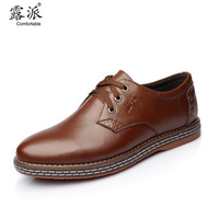 2013 new genuine leather business dress shoes cow leather casual shoes men