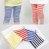 2013 summer girls clothing baby child trousers 5 pants legging kz-1891