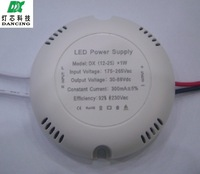 13W to 24W LED Driver 85-265V Input Constand current Power Supply Lighting Transformer for bulbs lamp 10 pcs per lot