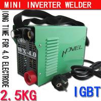 Better than ZX7250 welder New Protable DIY Mini IGBT inverter DC MMA welding machine/welding equipment suitable 4.0 electrode