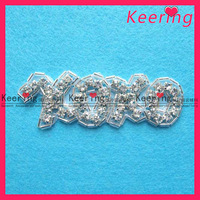 Wholesale!hot sell hot fix rhinestone applique patch for wedding dress,Free shipping,WRA-024